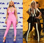 Nicki Minaj In Vex Latex - 2017 MTV VMAs