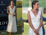 Nieves Alvarez In Temperley London - Torneo Polo International Tournament