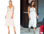 Priyanka Chopra's Zimmermann Curacao Crinkle White Dress