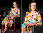 Sarah Paulson In Monique Lhuillier - 2017 Summer TCA Tour