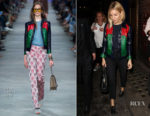 Sienna Miller In Gucci - Apollo Theatre
