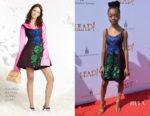 Skai Jackson In Cynthia Rowley - 'Leap' LA Premiere