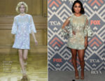 Vanessa Hudgens In Georges Chakra Couture - FOX 2017 Summer TCA Tour