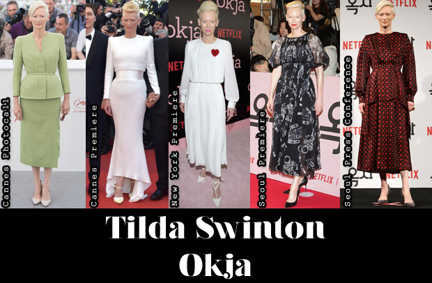 Which Was Your Favourite Tilda Swinton 'Okja' Promo Tour Look?