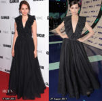 Who Wore Christian Dior Better? Felicity Jones or Sofia Carson?