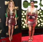 Who Wore Galia Lahav Better? Allison Williams or Stephanie Sigman?
