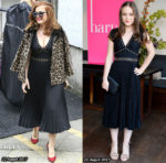 Who Wore Kate Spade New York Better? Isla Fisher or Izabela Vidovic?