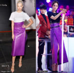 Who Wore Salvatore Ferragamo Better? Karlie Kloss or Yang Mi?