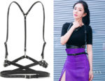 Yang Mi's Zana Bayne Leather Harness