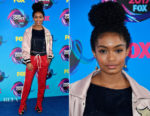 Yara Shahidi In Fear of God & Libertine - 2017 Teen Choice Awards