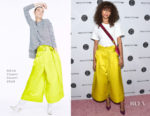 Zendaya Coleman In Adam Lippes - 5th Annual Beautycon Festival