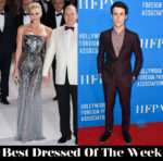 Best Dressed Of The Week - Charlene, Princess of Monaco in Atelier Versace & Dylan Minnette in Ermenegildo Zegna