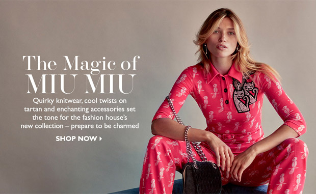 Miu Miu runway has arrived on NET-A-PORTER