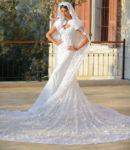 Rym Saidi weds Wissam Breidy in Georges Hobeika Couture