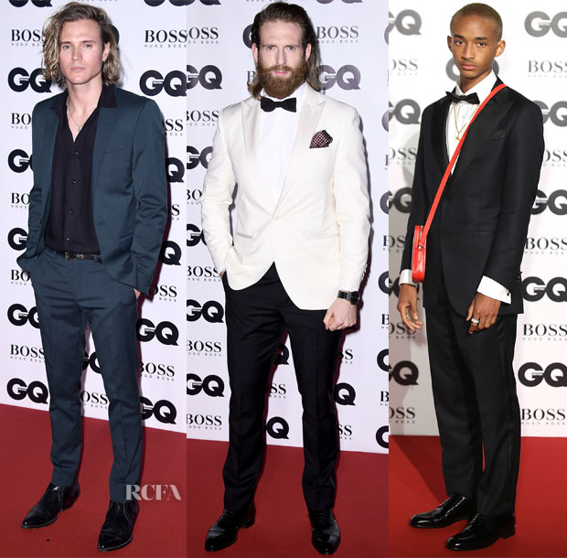 Dougie Poynter: One Of The More Casual Stars In The Mix, Dougie Kept It  Simple In His Suiting Separates. However, The Forest Green Colour Did Set  Them Above ...