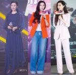 Fan Bingbing's Fashion Week: Delpozo, Oscar de la Renta, Zhang Shuai, Chris by Christopher Bu & Louis Vuitton