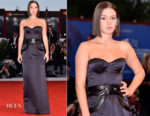 Adele Exarchopoulos In Louis Vuitton - Racer And The Jailbird (Le Fidele) Venice Film Festival Photocall & Premiere