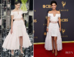 Alessandra Mastronardi In Chanel Couture - 2017 Emmy Awards