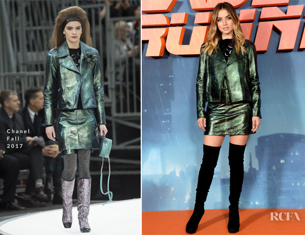 Ana de Armas In Chanel - 'Blade Runner 2049' London Photocall