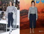 Ana de Armas In Chanel - 'Blade Runner 2049' Paris Photocall