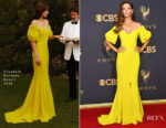 Angela Sarafyan In Elizabeth Kennedy - 2017 Emmy Awards