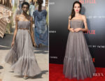 Angelina Jolie In Christian Dior Couture - 'First They Killed My Father' New York Premiere