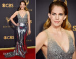 Anna Chlumsky In Sachin & Babi - 2017 Emmy Awards