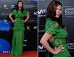 Anya Taylor-Joy In Elie Saab - 'Marrowbone' San Sebastian Film Festival Premiere