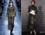 Barbara Lennie In Christian Dior - Max Factor Award