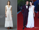 Bee Shaffer In Valentino  - The Franca Sozzani Award