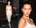 Bella Hadid In Dolce & Gabbana - Bulgari Celebrates Launch Of New Fragrance 'Goldea, The Roman Night'
