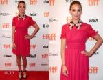 Berenice Bejo In Miu Miu - 'Redoubtable' Toronto Film Festival Premiere