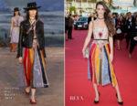 Charlotte Le Bon In Christian Dior - 43rd Deauville American Film Festival Opening Ceremony