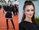 Charlotte Le Bon In Christian Dior - Deauville American Film Festival Closing Ceremony