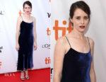 Claire Foy In Tibi - 'Breathe' Toronto Film Festival Premiere