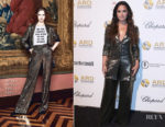 Demi Lovato In Alice + Olivia - Alcides & Rosaura Foundations' 'A Brazilian Night'