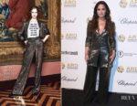 Demi Lovato In Alice + Olivia - Alcides & Rosaura Foundations' 'A Brazilian Night'