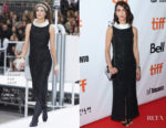 Deniz Gamze Erguven In Chanel - 'Kings' Toronto Film Festival Premiere