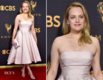 Elisabeth Moss In Atelier Prabal Gurung - 2017 Emmy Awards