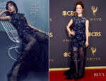 Ellie Kemper In Jenny Packham - 2017 Emmy Awards
