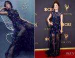 Ellie Kemper In Jenny Packham - 2017 Emmy Awards