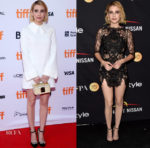 Emma Roberts In Brandon Maxwell &  Thai Nguyen Atelier - 'Who We Are Now' Toronto Film Festival Premiere & HFPA & InStyle TIFF Party