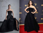 Emmy Rossum In Zac Posen - 2017 Emmy Awards