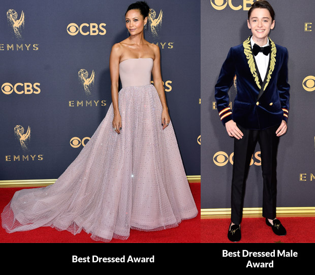 fashion critics 39 2017 emmy awards roundup red carpet. Black Bedroom Furniture Sets. Home Design Ideas