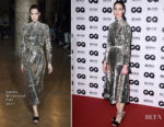 Erin O'Connor In Emilia Wickstead - 2017 GQ Men of The Year Awards