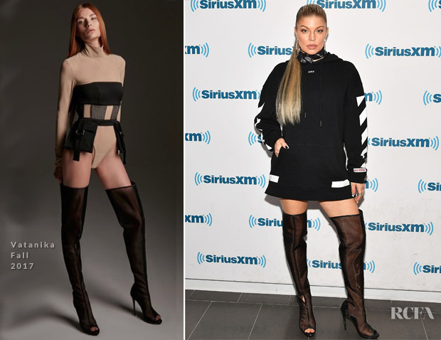 Fergie In Off-White - SiriusXM