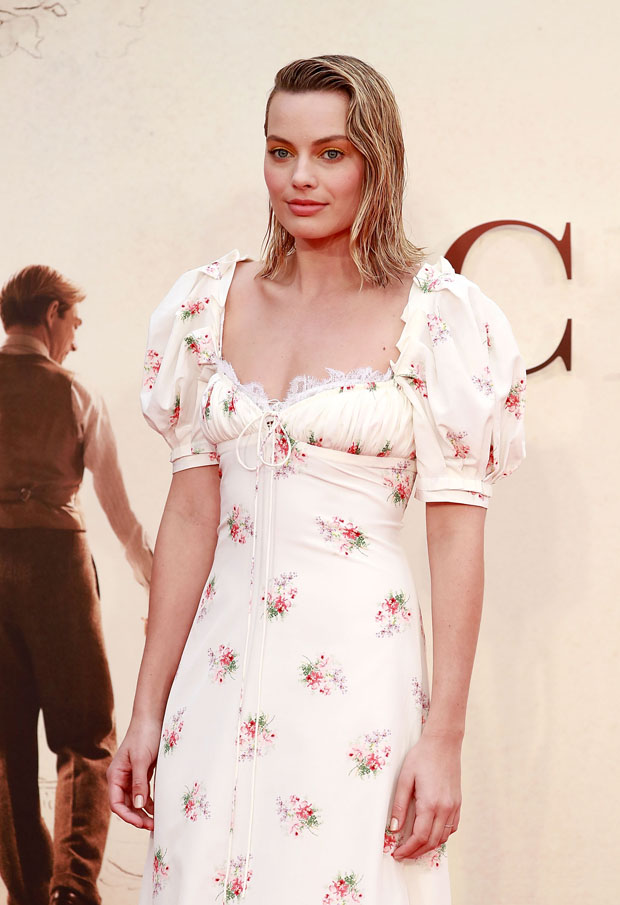 Margot Robbie In Brock Collection Goodbye Christopher