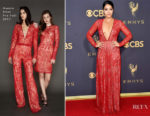 Gina Rodriguez In Naeem Khan - 2017 Emmy Awards