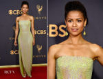 Gugu Mbatha-Raw In BOSS - 2017 Emmy Awards