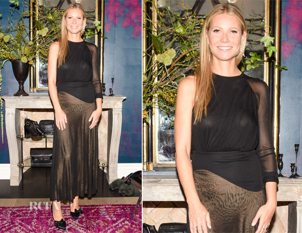 Gwyneth Paltrow In Antonio Berardi - The Goop X Christian Louboutin Capsule Collection Unveiling